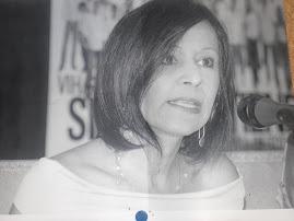 Ana Teresa Sosa. Rueda de prensa. Tres dramaturgas