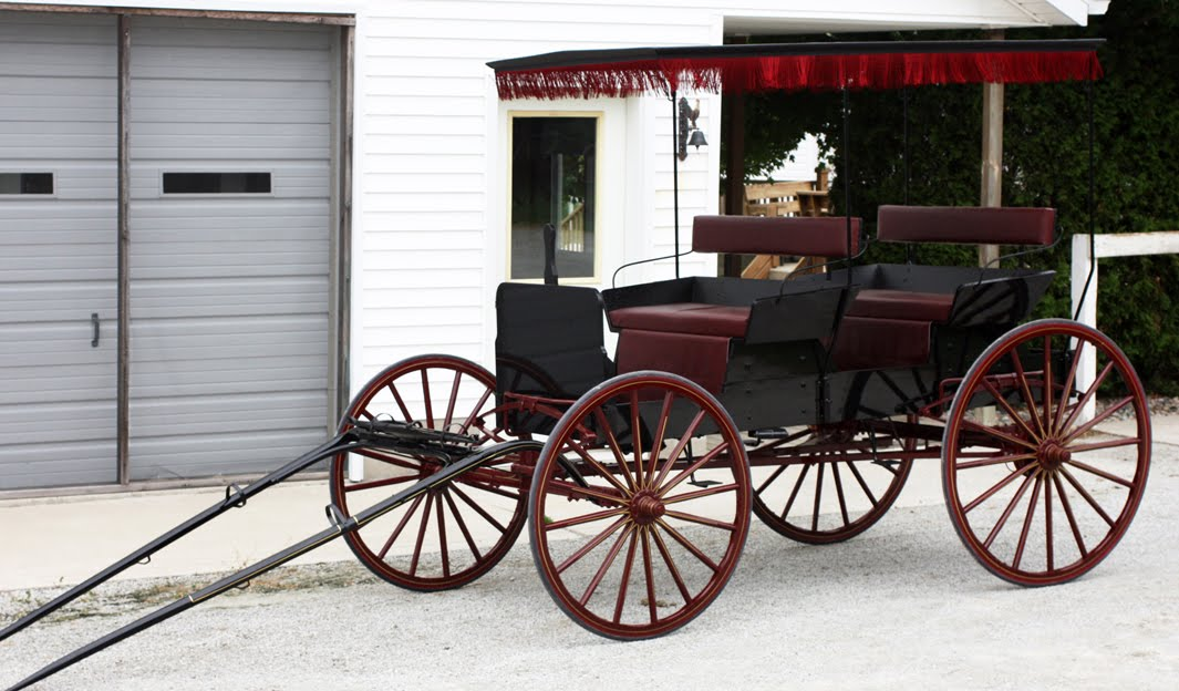 Horse Drawn Buggies And Wagons