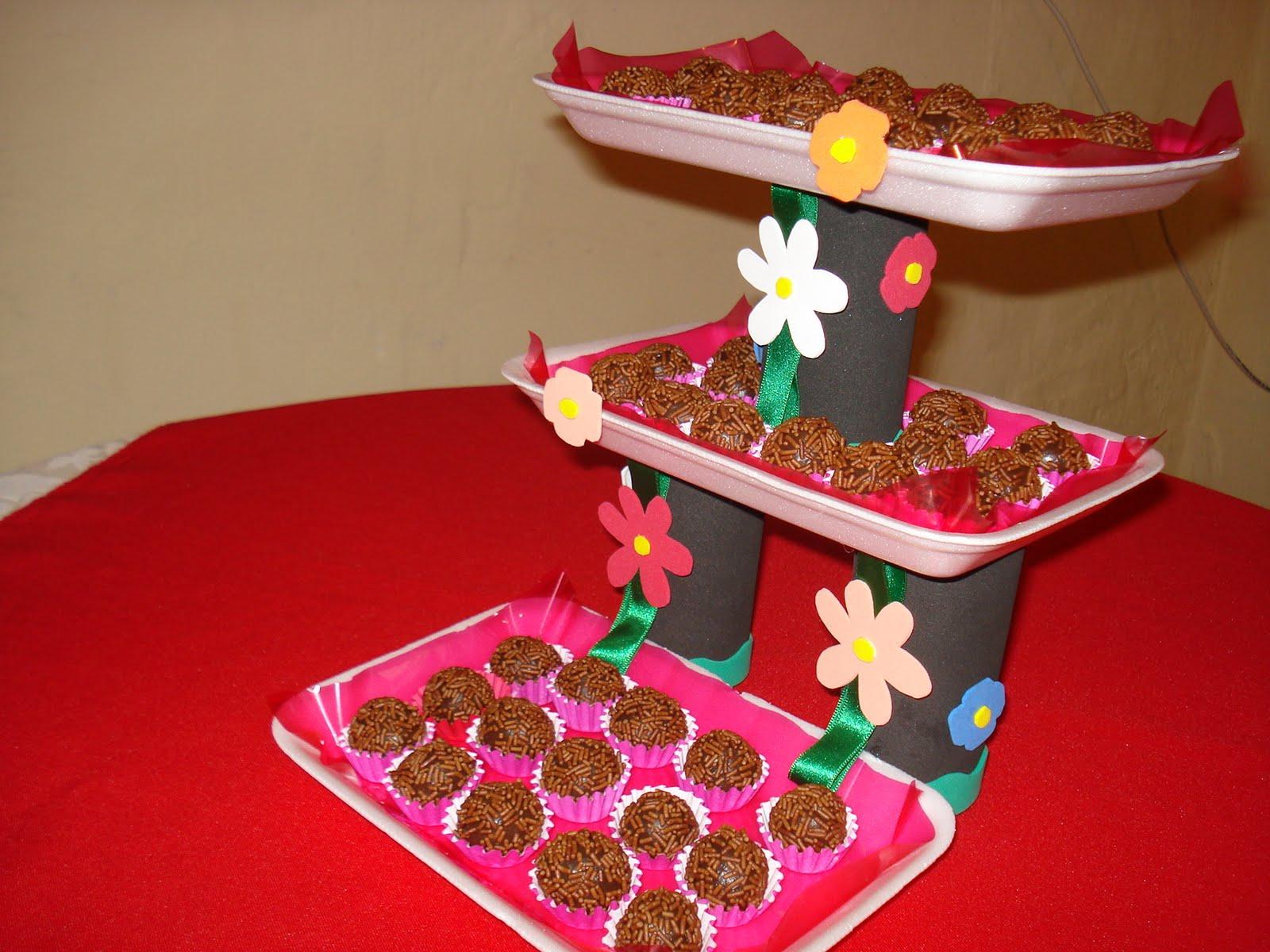 NidiArt´s: Suporte para doces de festa Idéia utilizando reciclagem #BE0D16 1600x1200
