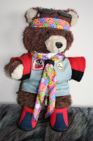Brodie bear in new scout outfit