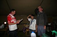 secret swearing in ceremony