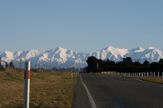 NZ porters pass in winter