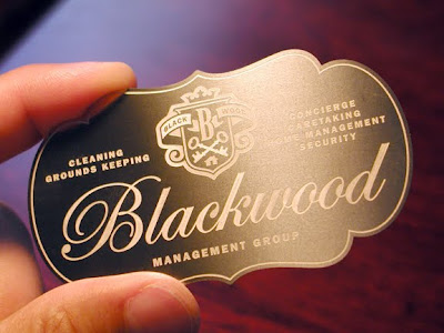 Schwartzrock Graphic Arts Worlds Most Expensive Business Card