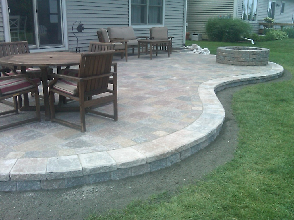 stamped concrete patio designs colored stamped concrete patio with
