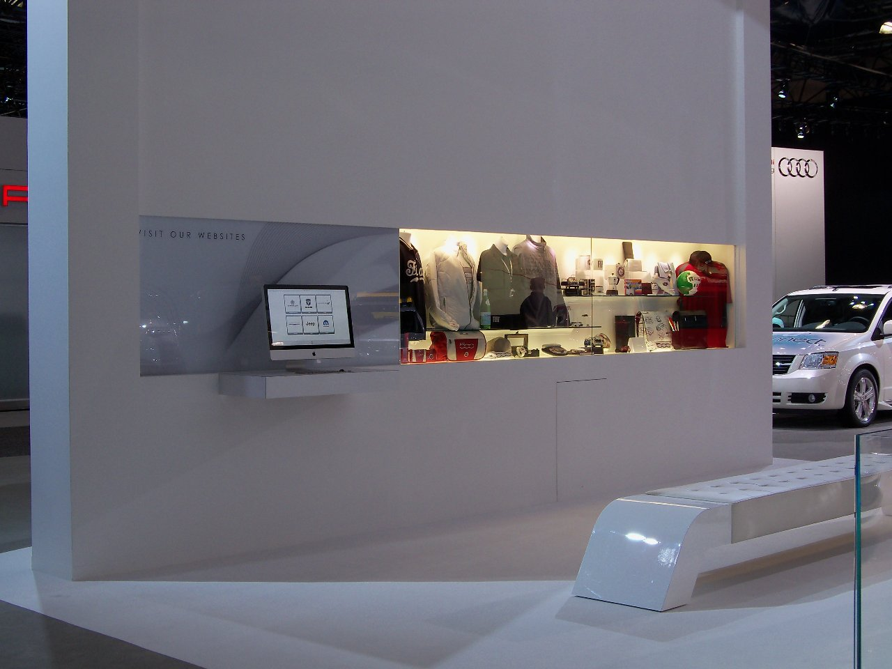 Fiat Accessories On Display At The New York Auto Show Fiat USA - Car show display accessories