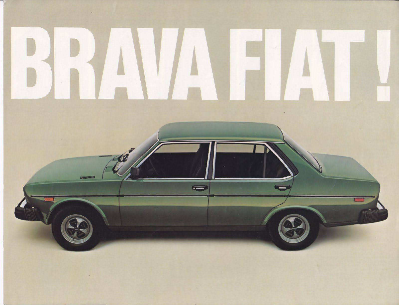Looking Back At The Fiat 131Brava Fiat 500 USA