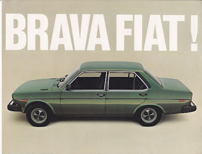 Fiat 500 USA: Looking back at the Fiat 131/Brava :  italian cars italy fiat rally