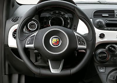 Off Topic: Abarth Rear Spoiler and Steering Wheel - The FIAT Forum