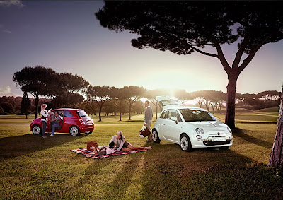 Fiat 500 USA: A look into the future... :  picnic italy fiat chrysler