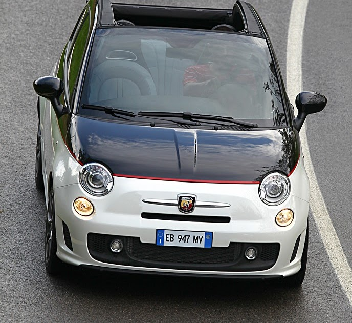 Inside The Fiat Abarth 500C...