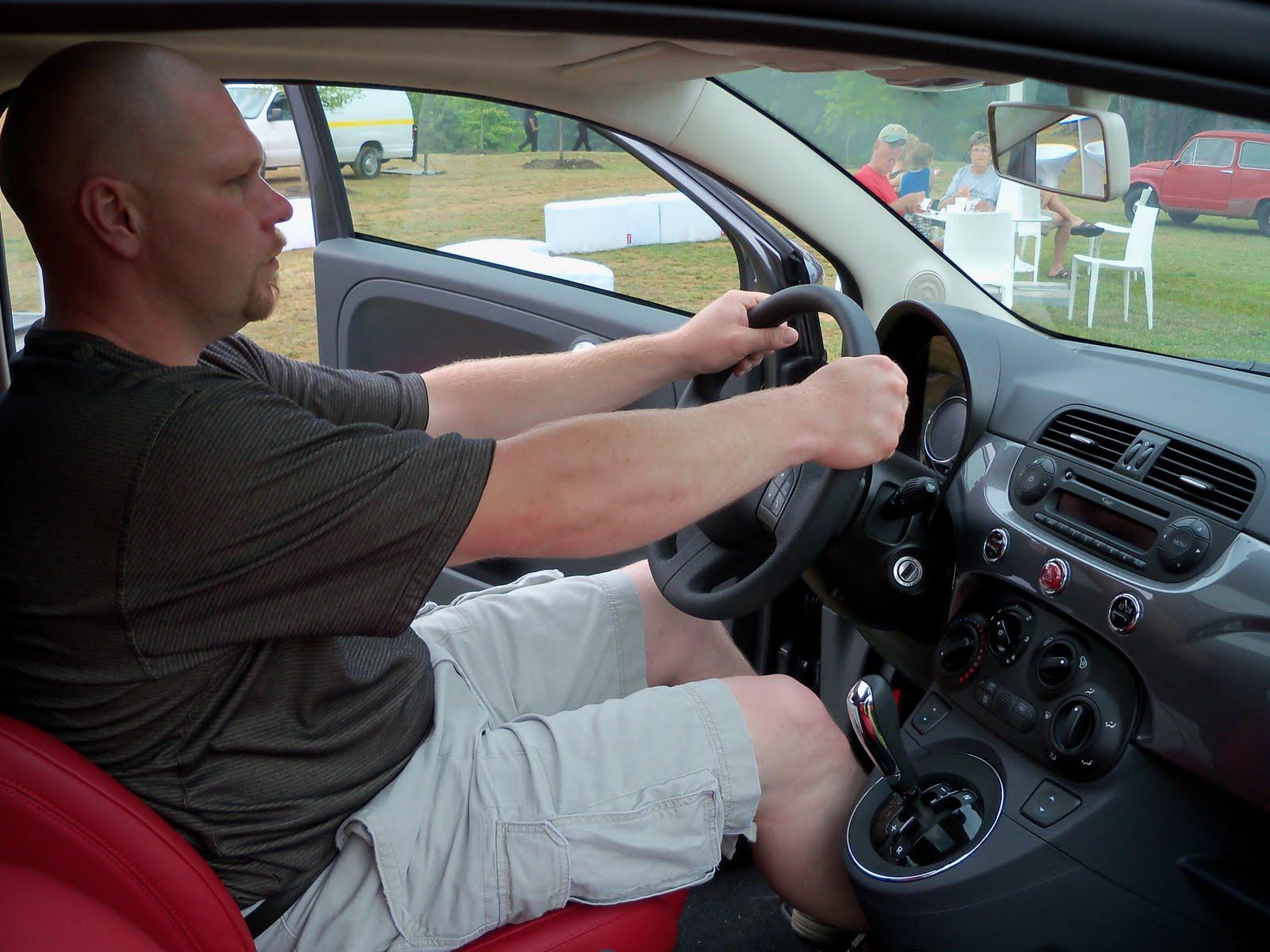 Fiat 500 legroom