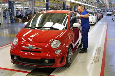 Inside the Fiat 500 factory... | Fiat 500 USA