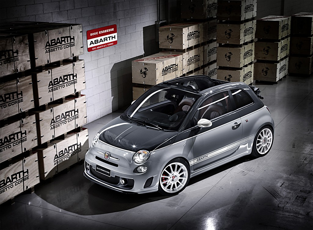 Just announced: Esseesse kit for the Abarth 500C | Fiat 500 USA