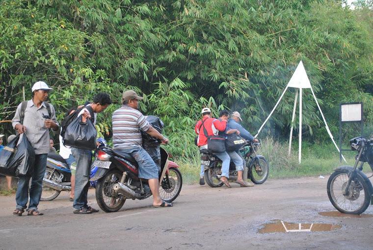 batas nol indonesia dan malaysia di Jagoi Babang