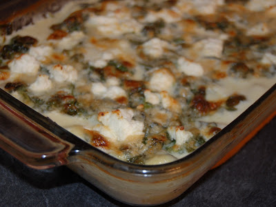 Cassie Craves: Baked Gnocchi with Spinach and Goat Cheese