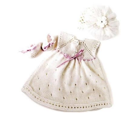 bebekorgu23 Anlatımlı Ajurlu Kız Bebek Elbisesi Ve Anlatımlı Tığ İşi Bebek Beresi