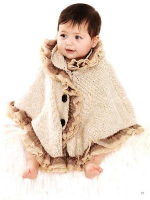 Bebek pelerini ya da bebek pançocu yapılışı :)