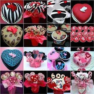 Sevgililer Günü Pasta, Kurabiye ve Cupcake Hediye Seçeneklerini