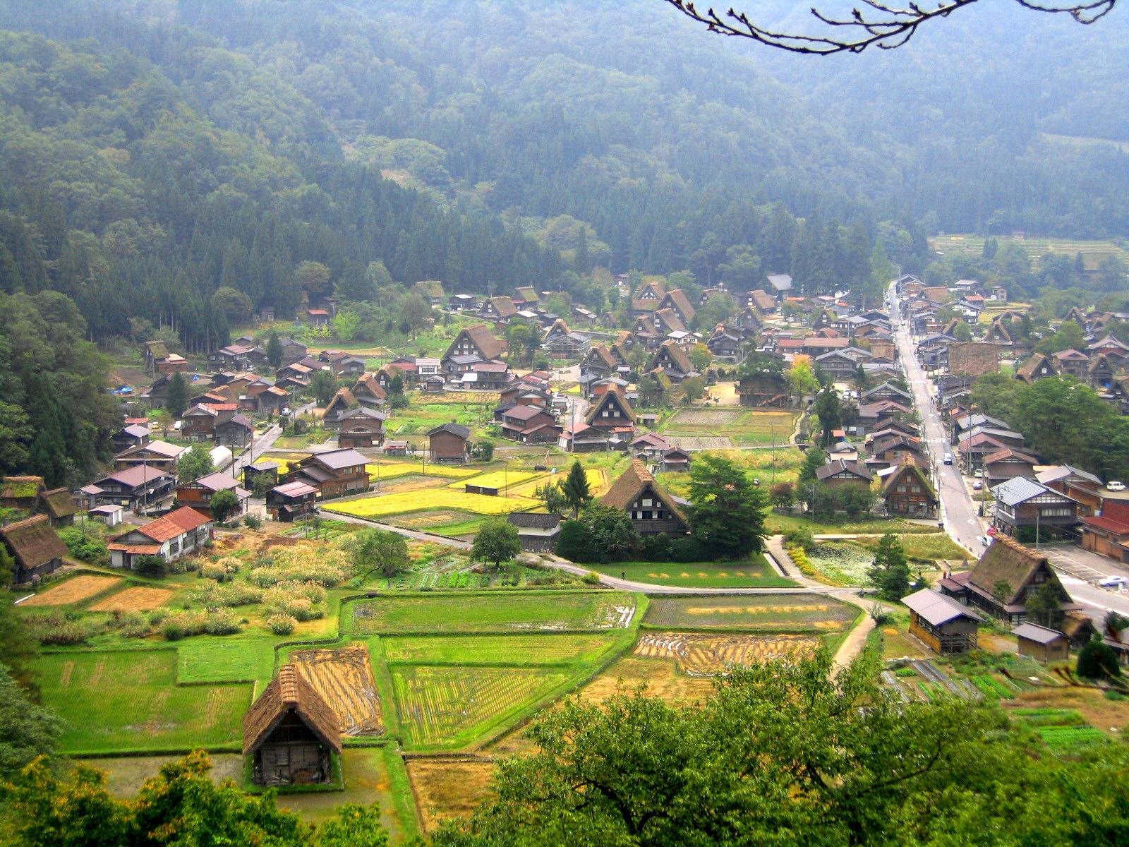 Красивые деревни