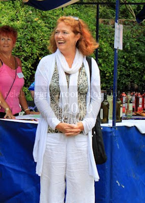 Actress and supporter of the Devonshire Park Theatre, Louise Jameson