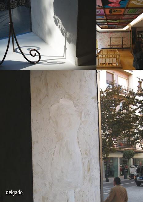 Marzo 2009 Intervención pictórica y Mural techo DELGADO BOUTIQUE