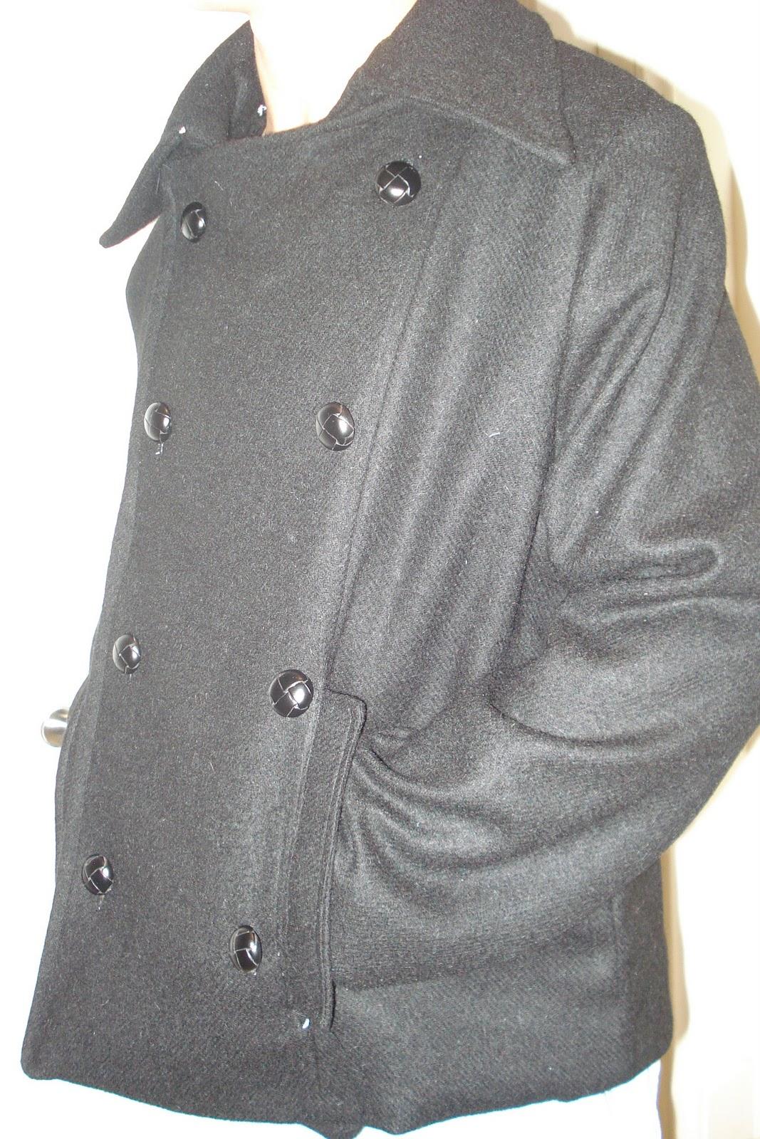Plaid Pea Coat | Fashion Bug - Affordable Women's & Misses Plus