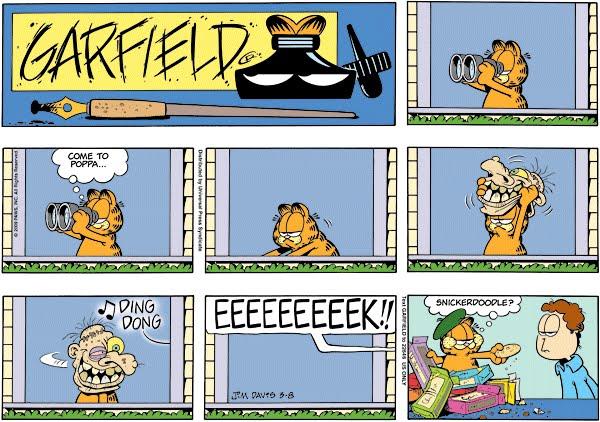 Garfield Halloween Book