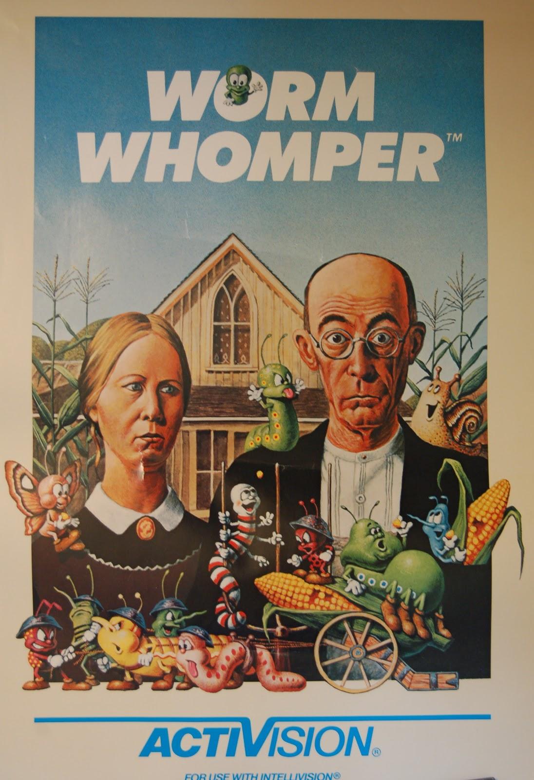 American Gothic Parodies Worm Whomper