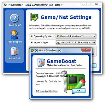 Capa GameBoost v1.10.4.2010 + Serial