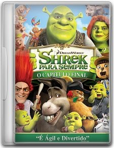 Capa Shrek Para Sempre   DVDRip   Dublado (Dual Áudio)