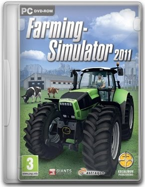 Capa Farming Simulator 2011   PC (Completo) + Crack
