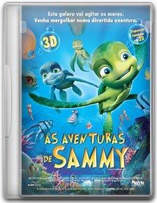 Capa As Aventuras de Sammy   DVDRip   Dual Áudio