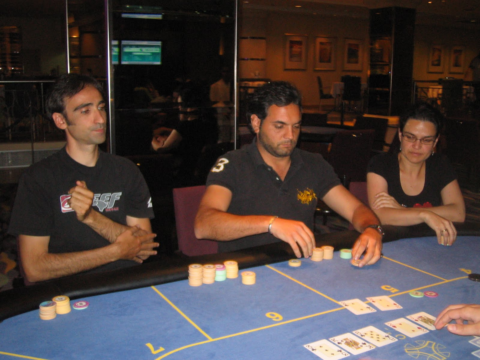 Sevilla casino poker