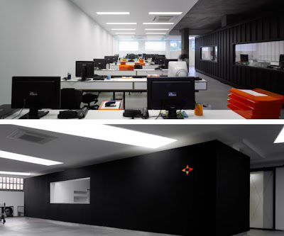 Interior Office Design on Work Space For Modern Office Interior Design By Javier Quinteiro Share