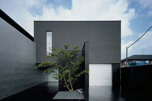 Exterior Home Design on Japanese Minimalist Architecture For Modern House Design