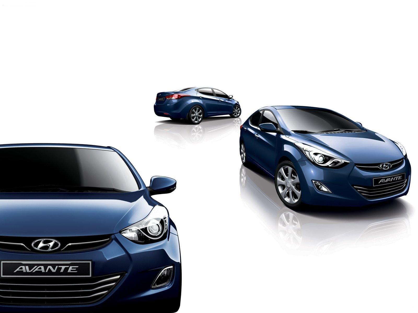 2011 Hyundai Elantra Avante Interior Rendering Photo Gallery