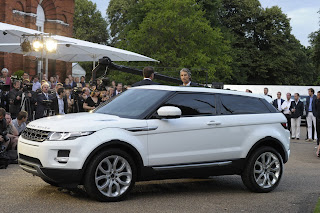 New Car: 2011 Range Rover Evoque