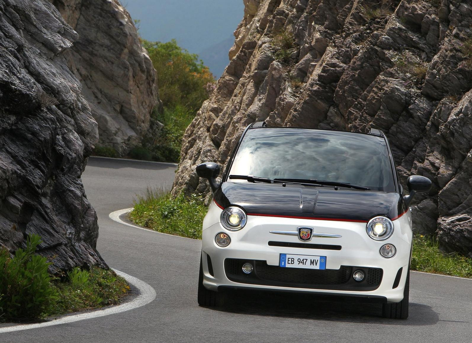 The 500C Abarth can complete a