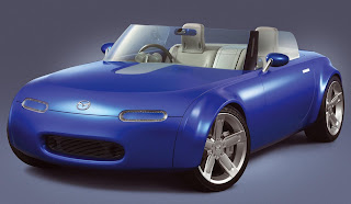 Mazda RX-8 sports car to MX-5 concept