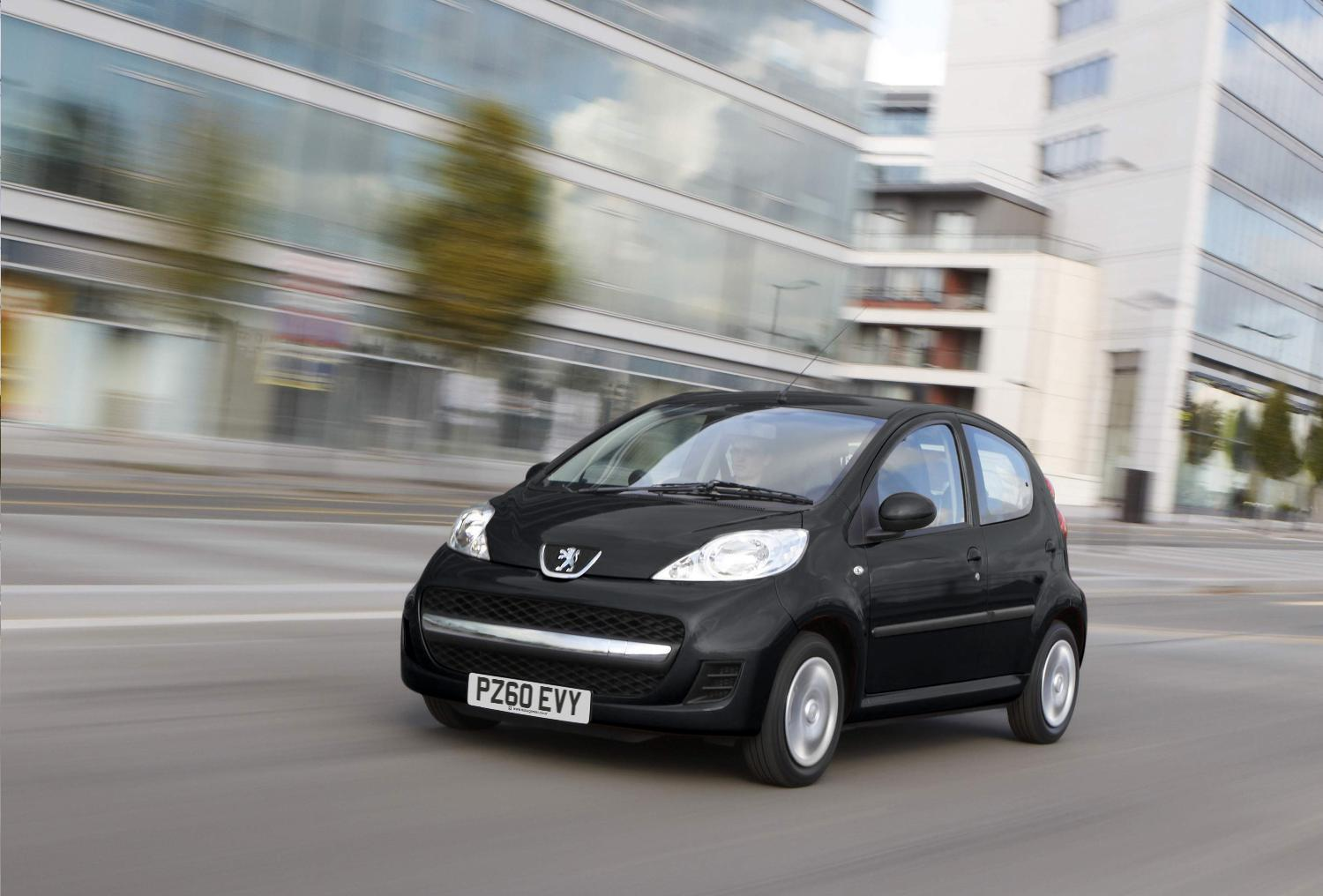 Peugeot Launches Special Edition 107 ENVY UK
