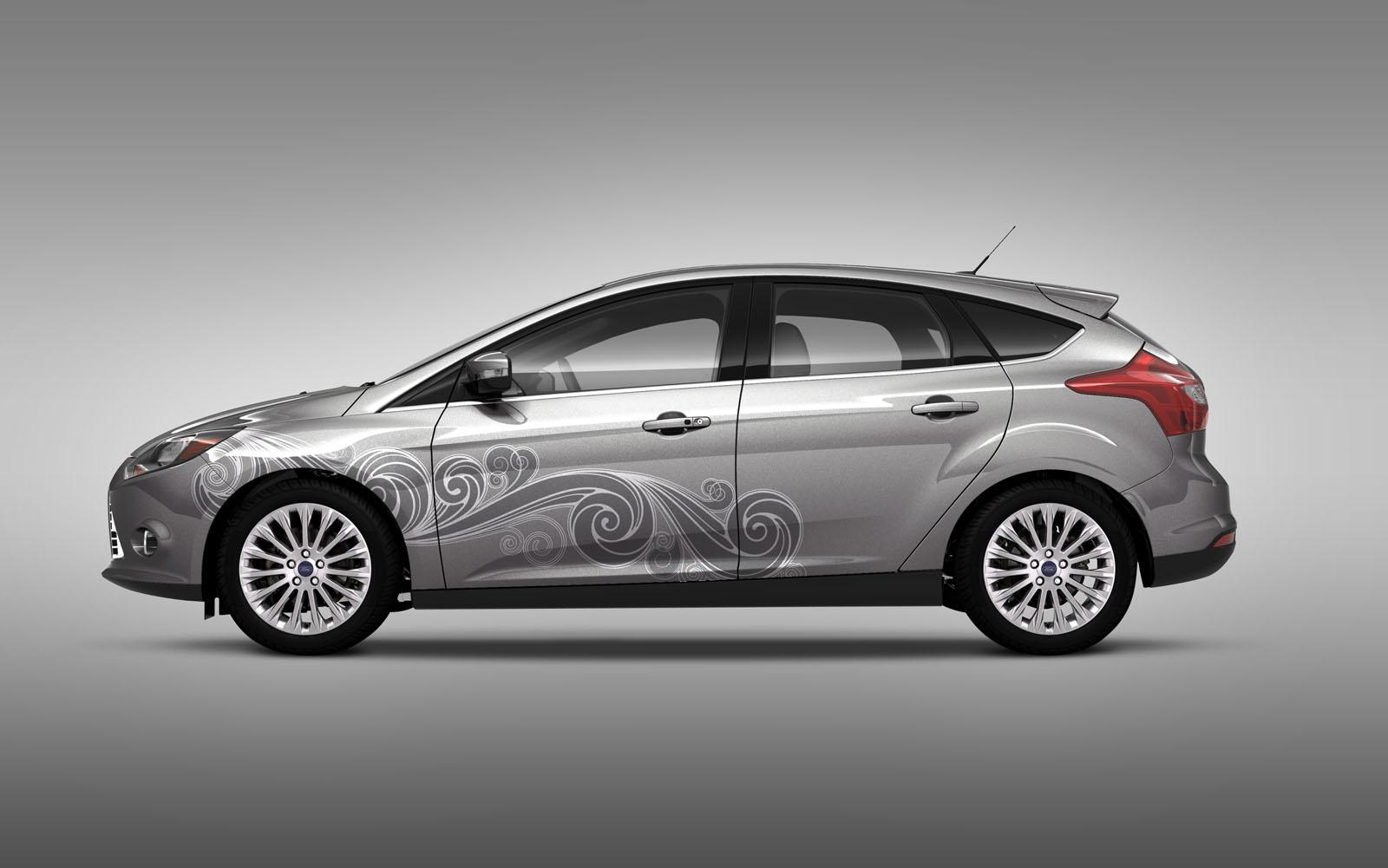 Ford Offers Custom Graphics For Focus US New Cars - Custom graphics for cars