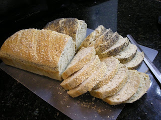 La Gringa's herb and seed bread