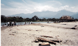 beach, El Porvenir, Honduras