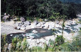 Rafting on the Cangrejal River, Honduras