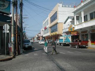 La Ceiba street scene