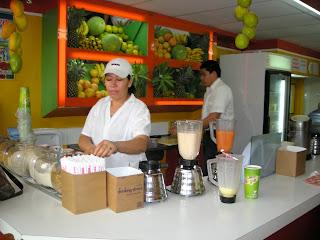 Chapala's juices, La Ceiba, Honduras