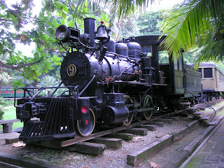 1915 steam engine, La Ceiba, Honduras