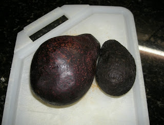 Honduran and Hass avocados