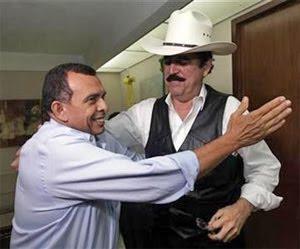 Pepe Lobo, Mel Zelaya