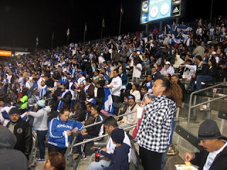 US-Honduras game crowd